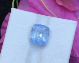 Top Grade 3.25 ct Precious Aquamarine Ring Size`R