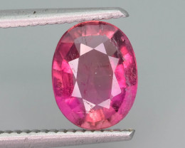 Ring Size 1.85  ct Amazing Color Tourmaline