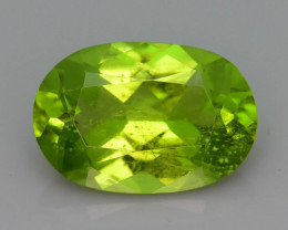 Bright Color 3.00 ct Peridot Ring Size