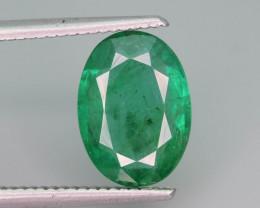 Top Color & Clarity 3.55 ct Emerald~Zambia~Q