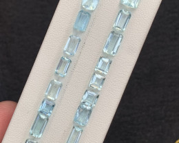 26 carats  Natural Aquamarine Gemstone from pakistan parcel