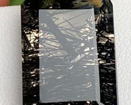 Unique 21.12 Carats Natural Emerald cut Rutile Quartz