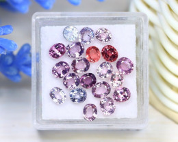Spinel 5.44Ct Oval Cut Natural Burmese Fancy Color Spinel Lot A0108