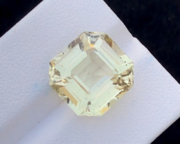 300$~10 Carat Natural Stunning Ashar Cut Aquamarine Gemstone