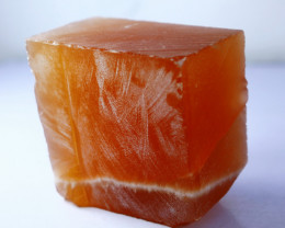1378.50 CTs Natural & Unheated~Honey Color Calcite Rough