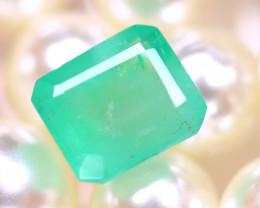 Emerald 2.84Ct Natural Zambia Green Emerald E0713/A38