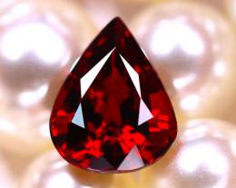 Almandine 2.60Ct Natural Vivid Blood Red Almandine Garnet E0718/B26