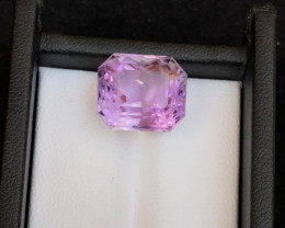Top Grade 10.85 ct lovely Amethyst Flower cut Ring Size~M