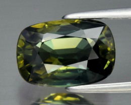 Stunning! 3.05 ct Natural Earth Mined  Bluish Green Sapphire, Thailand