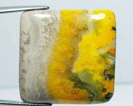 28.49 ct Natural Bumble Bee Jasper Rectangular Cabochon  Gemstone