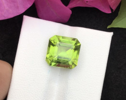 Top Grade 6.85 ct lovely Peridot Ring Size~MA