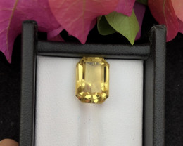 Top Grade 8.45 ct lovely Citrine Ring Size~T