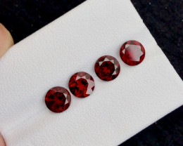 Red Color4.00 Ct Natural Amazing Garnet .A.