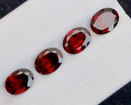Red Color 5.60 Ct Natural Amazing Garnet .A.