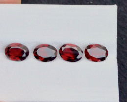 Red Color 5.75 Ct Natural Amazing Garnet .A.