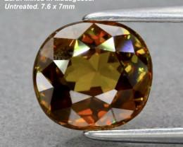 1.99ct Sphene - Cushion / Madagascar / 7.6 x 7.0mm