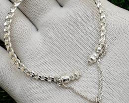 90 Carats Natural New Design 925 Silver Bangal
