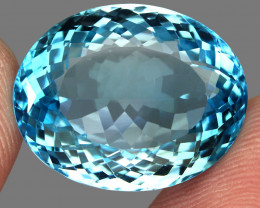 40.97  ct. Natural Earth Mined Top Quality Blue Topaz Brazil