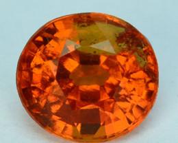 0.97 Cts Natural Mandrian Orange Spessertite Garnet Oval Cut Namibia