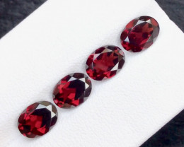 Red Color 6.00 Ct Natural Amazing Garnet .A.