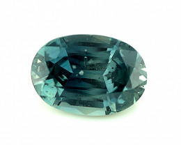 ~No Reserve~1.165(ct) Spinel Unusual Green Color Perfect Cut Gemstone from