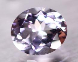 6.73ct Natural Light Purple Amethyst Oval Cut Lot P410