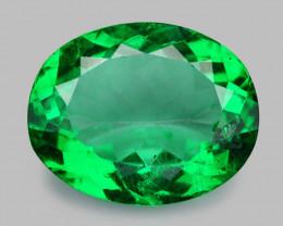 Beryl 4.02 Cts Rare Green Color Natural Gemstone