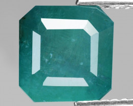 Grandidierite 3.30 Cts NoHeat Very Rare Bluish Green Natural Gemstone