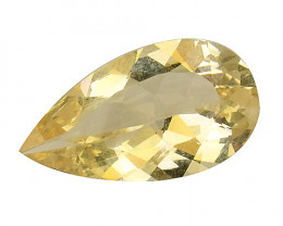 2.95Cts Natural Heliodor Top Quality Gemstone HL09
