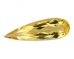 1.61Cts Natural Heliodor Top Quality Gemstone HL10