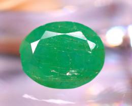 Emerald 3.50Ct Natural Zambia Green Emerald E0912/A38
