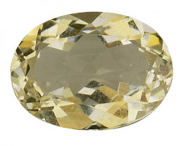 3.73Cts Natural Heliodor Top Quality Gemstone HL13