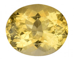 4.56Cts Natural Heliodor Top Quality Gemstone HL15