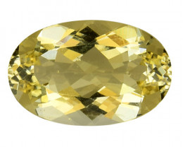 3.88Cts Natural Heliodor Top Quality Gemstone HL16
