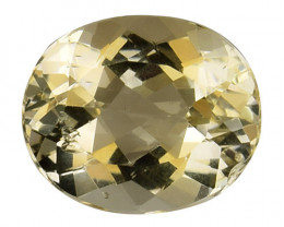 4.27Cts Natural Heliodor Top Quality Gemstone HL19