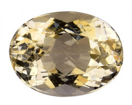 3.94Cts Natural Heliodor Top Quality Gemstone HL21