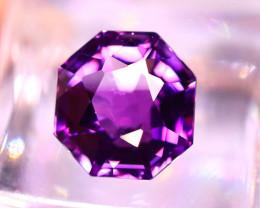 Amethyst 6.80Ct Natural Uruguay Electric Purple Amethyst E0921/C4
