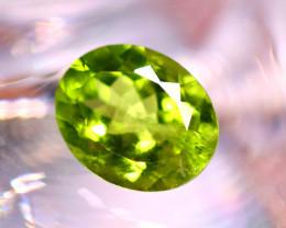 Peridot 2.43Ct Natural Pakistan Himalayan Green Peridot E0923/A10
