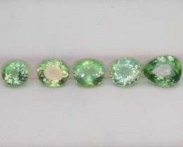 Great Luster 6.25 Green Apatite Lot