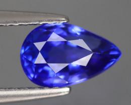 1.650 CT TANZANITE ROYAL BLUE 100% NATURAL GEMSTONE
