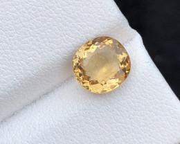 Brilliant Color 1.55 Ct Natural Helidor gemstone