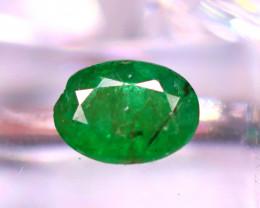 Emerald 1.96Ct Natural Zambia Green Emerald  D1008/A38