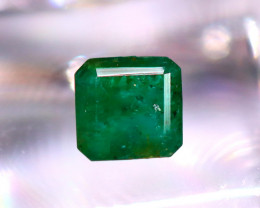 Emerald 1.77Ct Natural Zambia Green Emerald  D1009/A38