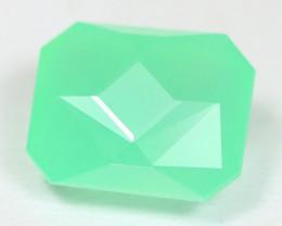 Chrysoprase 6.72Ct Master Cut Natural Green Color Chrysoprase AT16