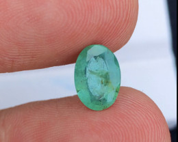 Brilliant Color  1.75 Ct Natural Emerald from Ethiopia