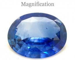 1.88ct Oval Blue Sapphire GIA Certified Sri Lanka