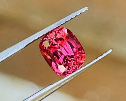 Terrific looking stone!   Beautiful color and cut.   VS inclusion level.   Very bright and no window.   Vietnam spinel from Luc Yen.