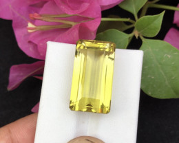 Top Grade 30.80 ct lovely Citrine Ring Size`RS