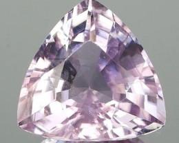 New Mine Pink Diaspore Trillion 4.41Ct
