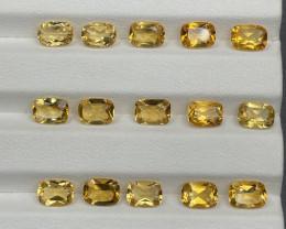 12.98 CT Citrine Gemstones parcel